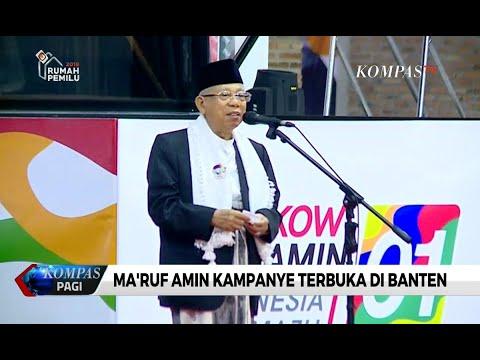 Kampanye Di Banten, Ma'ruf Sebut Jokowi Sebagai Sosok Yang Hargai Ulama