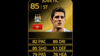 FIFA 14 IF JOVETIC 85 Player Review & In Game Stats Ultimate Team