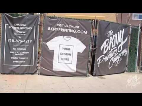 BKNY Printing custom Screenprinting