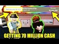 GETTING 70 MILLION CASH in Roblox Jailbreak [BADCC GETS MAD]