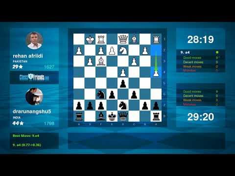 Chess Game Analysis: rehan afriidi - drarunangshu5 : 0-1 (By ChessFriends.com)