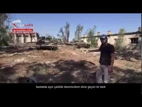HALAB NEWS AJANSI ll mınnıg askeri havaalanı içinden hemen tahrir sonrası