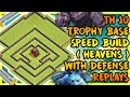 Clash Of Clans BEST TOWN HALL 10 TH10 TROPHY BASE 2017 DEFENSE REPLAYS ANTI 2 ANTI LAVALOON