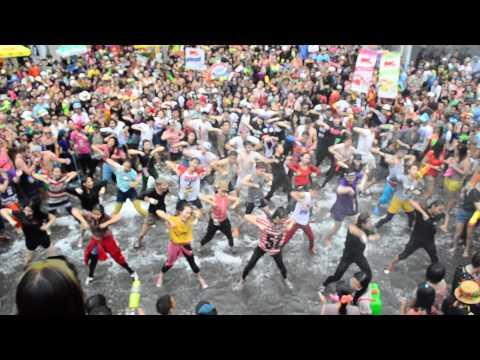 Flash mob สงกรานต์ เชียงใหม่