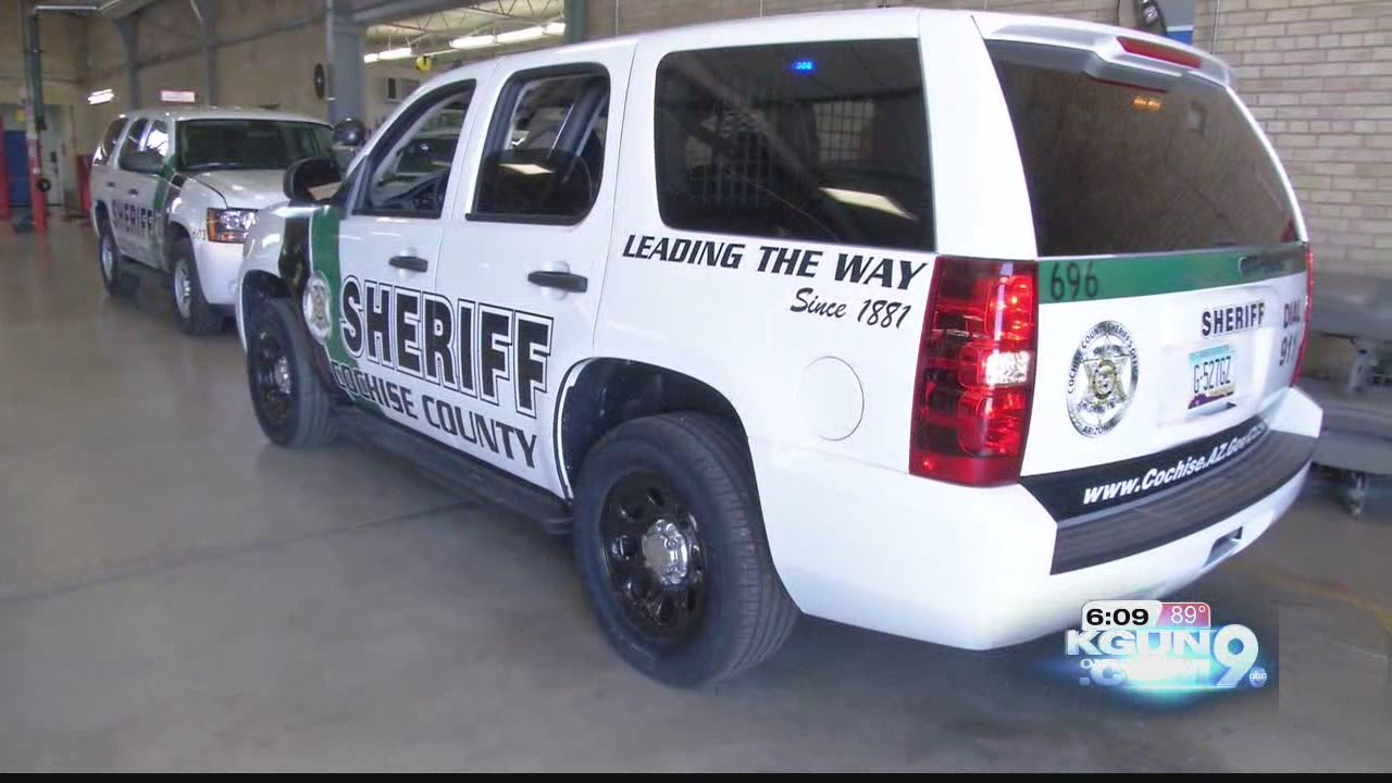 Cochise County Sheriff unveils new, high-tech patrol cars