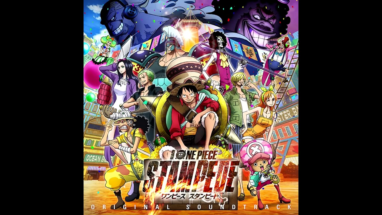 One Piece Stampede - We are! (With voice) - YouTube