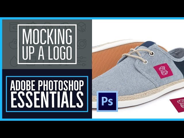How to bend a logo onto an image realistically - Photoshop CC Essentials [47/86]