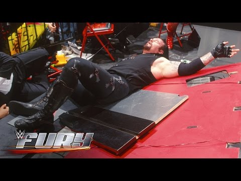 13 incredibly painful landings: WWE Fury