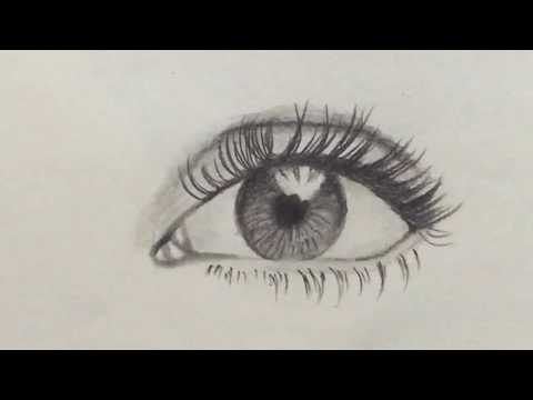 How To Draw A Eye Easy Step By Step