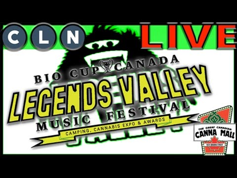 LIVE from Legends Valley Music Festival and Cannabis Cup with The Great Canadian CannaMall on Day 3