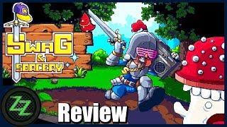 Swag And Sorcery Review (Deutsch/German) Test des Pixelart Retro Helden Simulators +Erklärung+Tipps