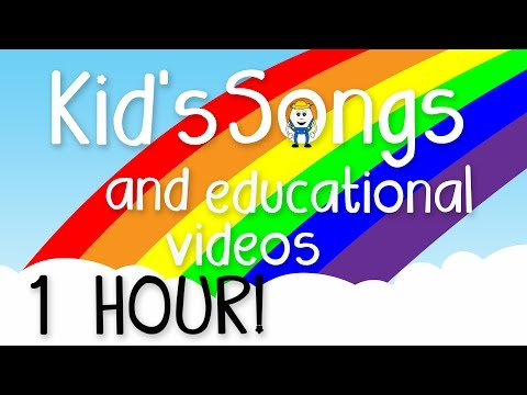 1 Hour of Kids Music – Educational Videos for Children – Learning Songs for Preschoolers