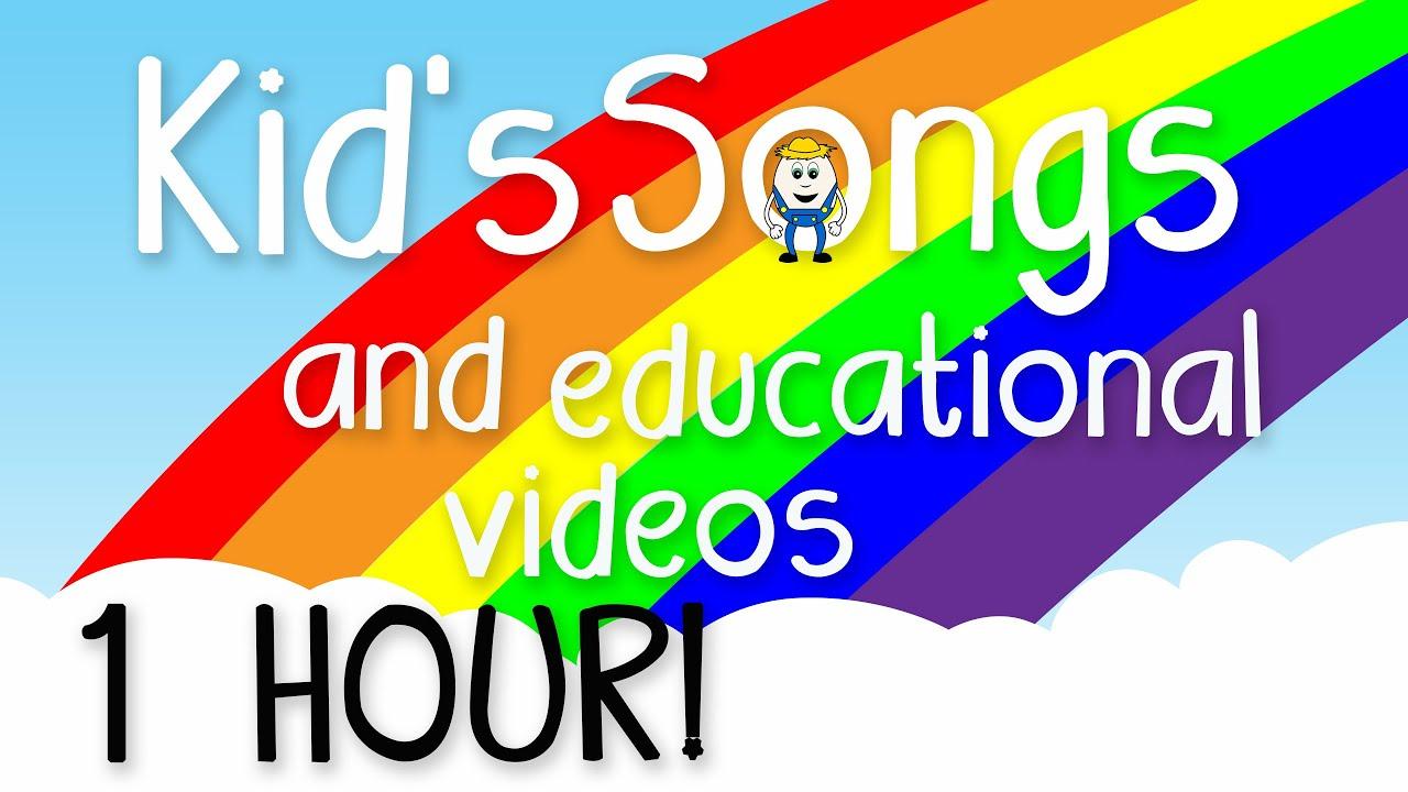 1 Hour of Kids Music - Educational Videos for Children - Learning Songs for Preschoolers