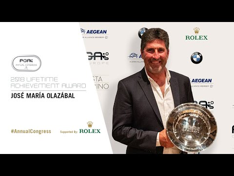 José María Olazábal | 2018 PGAs of Europe Lifetime Achieveme