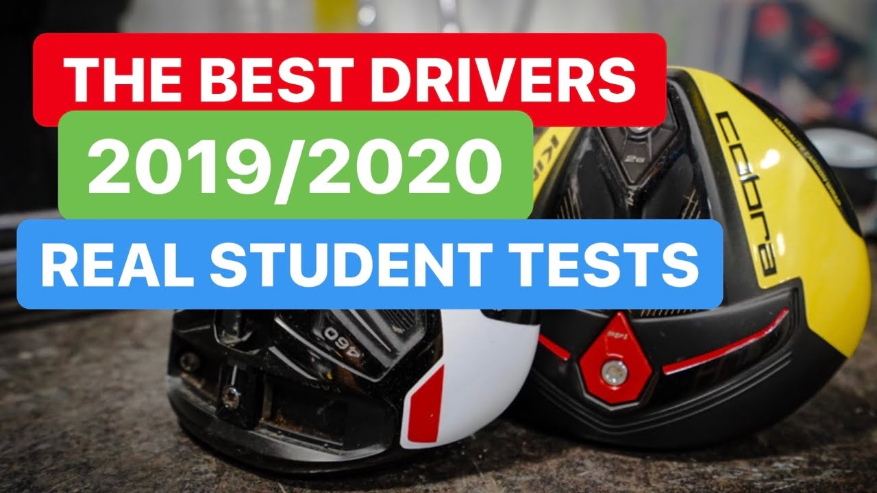 Best Driver 2020.Best Drivers 2019 Real Student Longer Drives