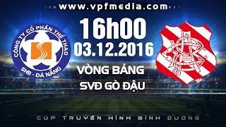 shb da nang vs bangu atletico- btv cup 2016  full