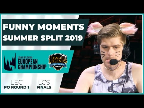 Funny Moments - LCS Finals & LEC Playoffs Round 1 - Summer