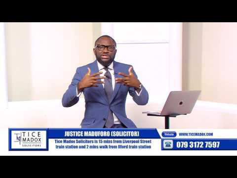 Tice Madox Solicitors - Update on Asylum by Justice Maduforo (Solicitor)