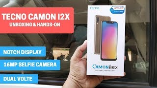 Tecno Camon i2X - Unboxing and Hands-on [Hindi]