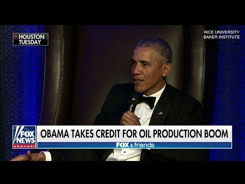'That Was Me, People': Obama Takes Credit for Oil Production Boom
