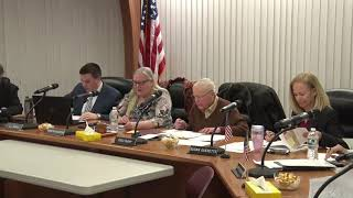 January 6, 2020 Schuylkill Township Board of Supervisors