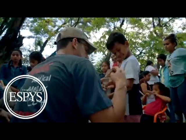 Jake Wood, Team Rubicon receive Pat Tillman award for service | 2018 ESPYS  | ESPN