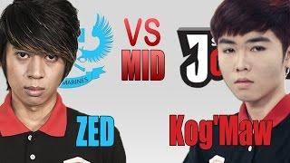 QTV - Zed đại chiến Kog'Maw - Minas đường giữa [18/5/2015]