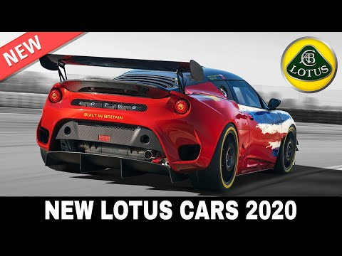 5 New Lotus Sports Cars that Are Lighter and Faster than Ever Before