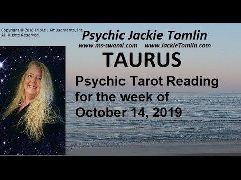 taurus horoscope for week of october 14 2019