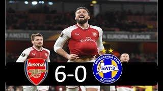 Download Video Arsenal vs Bate Borisov 6 0 |  All Goals & Highlights December 2017 HD MP3 3GP MP4