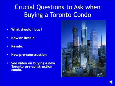 crucial questions to ask when buying a toronto condo#3.wmv