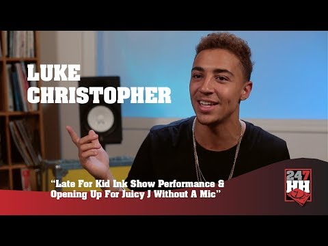 Luke Christopher - I Had To Open Up A Show For Juicy J Without A Mic (247HH Wild Tour Stories)