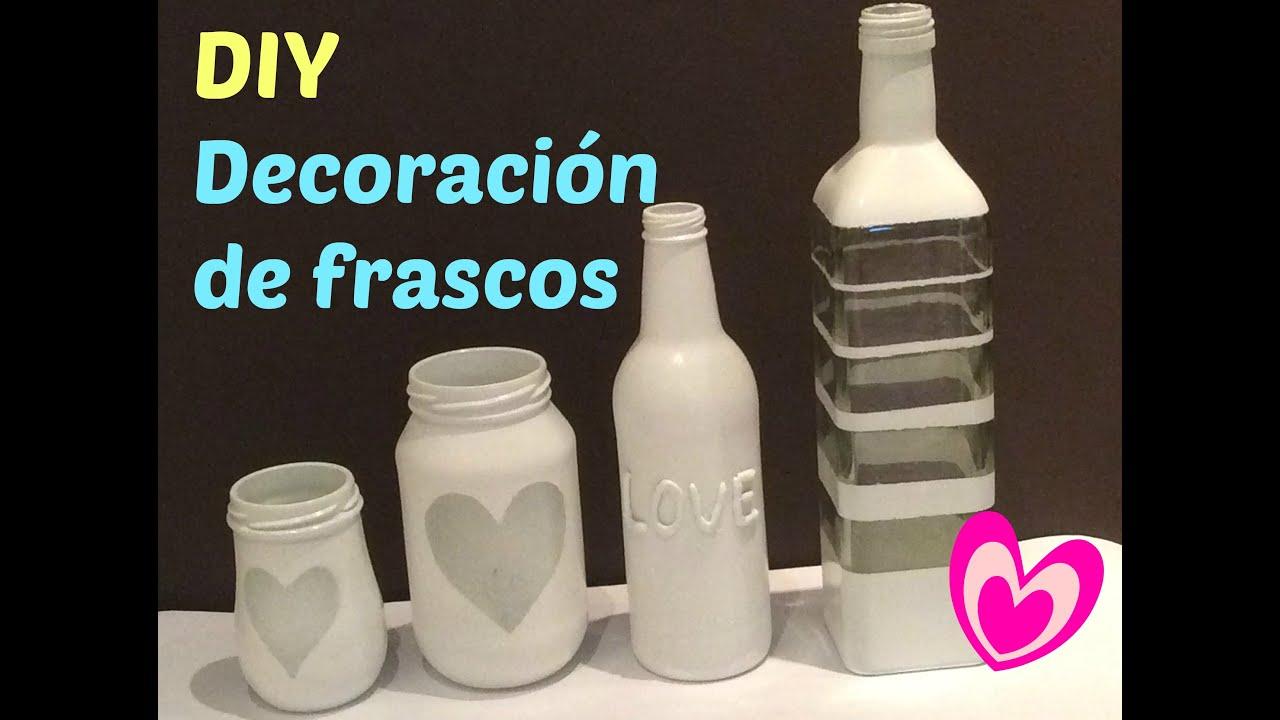 Frascos de vidrio decorados frascos decorados - Diy frascos decorados ...