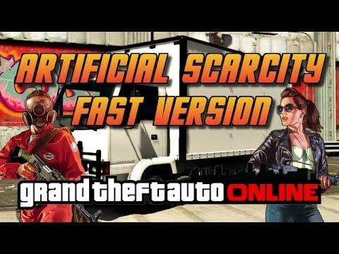 GTA Online[GTA5] Making Money Solo - Artificial Scarcity - Fast Version