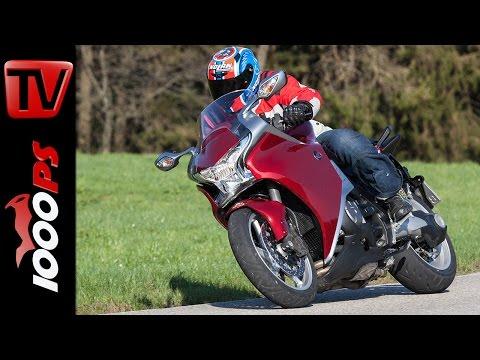 2015 | Honda VFR1200F Test - DCT Doppelkupplungsgetriebe