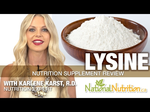 Professional Supplement Review - Lysine