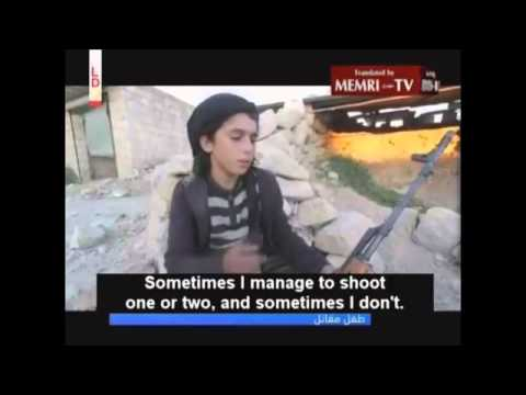 Syrian Child Soldier: 'I've Gotten Used To Killing Soldiers'