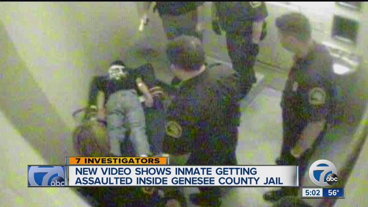 New video shows inamte assaulted inside Genesee County Jail