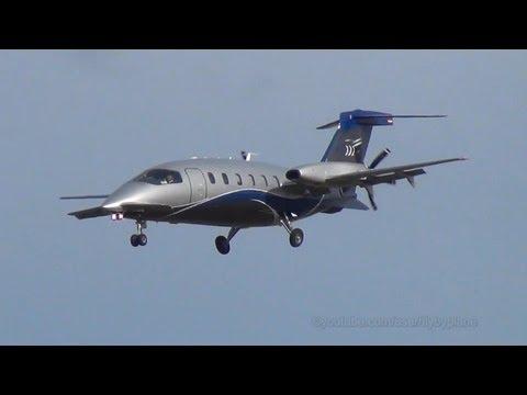 Piaggio P.180 Avanti | Airgo Flugservices [D-IVIN] | Landing + Takeoff @ Hamburg Airport
