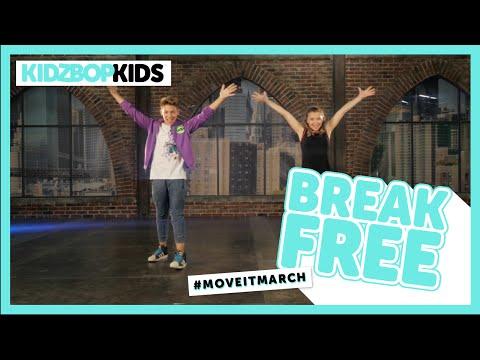 KIDZ BOP Kids - Break Free (#MoveItMarch)