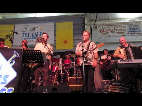 New Brass Express - I wanna shout polka (plus band introductions).mov
