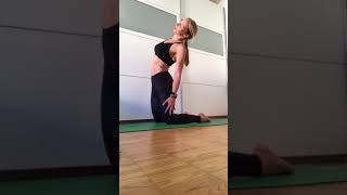 Cobra camel Yoga tabata Yoga and Fitness with Rhyanna Watson