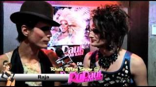 Adam Lambert, RuPaul  and cast of RuPaul's DR season 3 on the Rhea Litre Show  by Alejandra duque