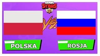 POLSKA vs ROSJA - BRAWL STARS