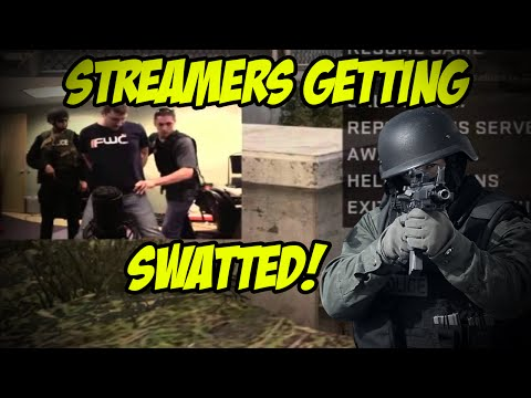 TOP 6 CSGO STREAMERS SWATTED!