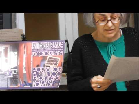 ALOUD XV PORTAUTORE abrigliasciolta | femaleActions of Gloria Chiappani |10.07.18|