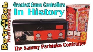 The Sammy Pachinko Controller for Super Famicom: Greatest Game Controllers in History Ep. 1