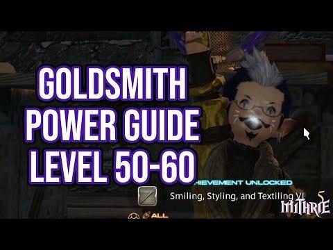 ffxiv goldsmith guide 50-60