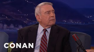 Dan Rather's Bathroom Chat With LBJ  - CONAN on TBS