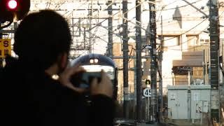 485系 快速 新春初詣やまどり号 高尾駅 到着
